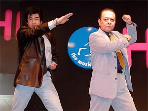 藤岡弘&佐々木剛 Wライダー夢のトークショー@HMV渋谷